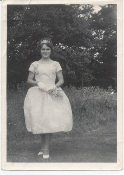 I was one of the 4 Maids of Honour in the Hayes Carnival