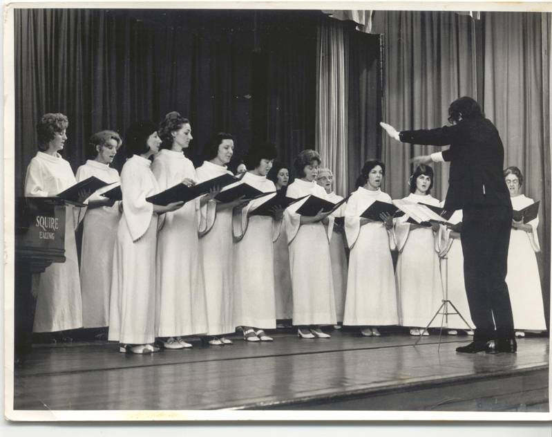 The T.O.D. Choir from Hayes Community Centre (Photo: Middx. County Times)