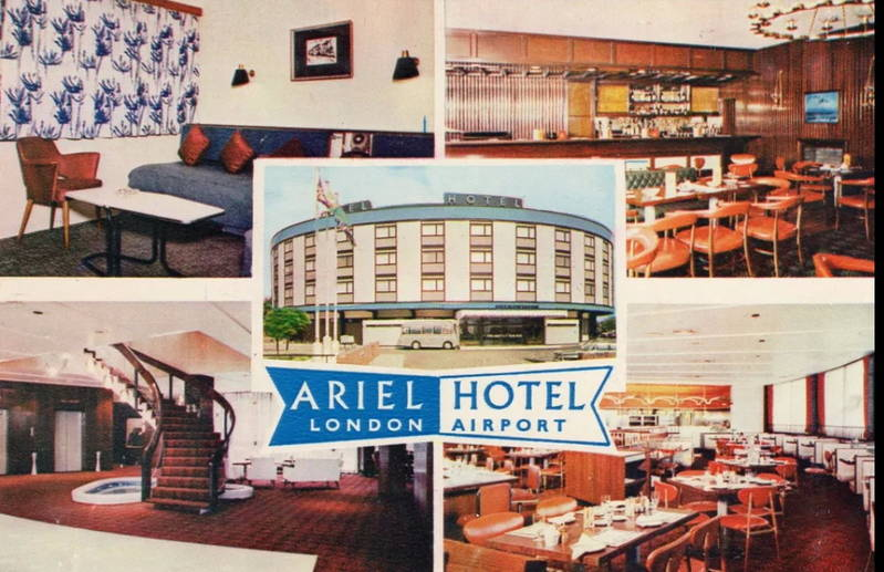 The Ariel Hotel, Bath Road, Harlington