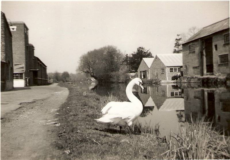 The Grand Union Canal at Uxbridge; 25-4-1963