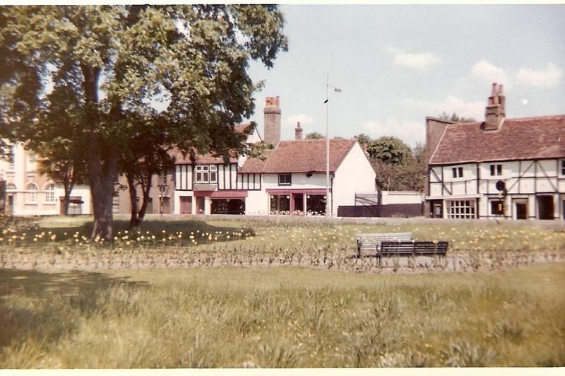Cross Street, Uxbridge, 1963