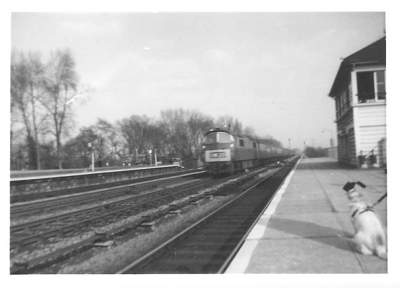 Denham Station; April 1963