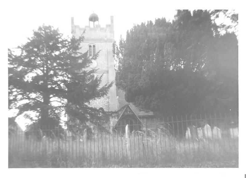 Harmondsworth Church in 1966