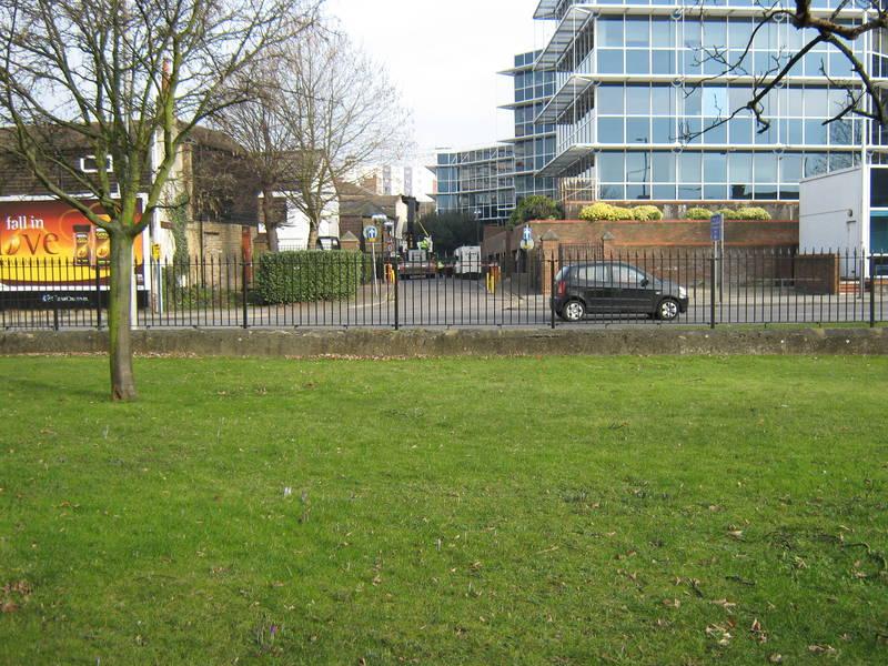 """""""Cross Street"""", Uxbridge, February 2012"""