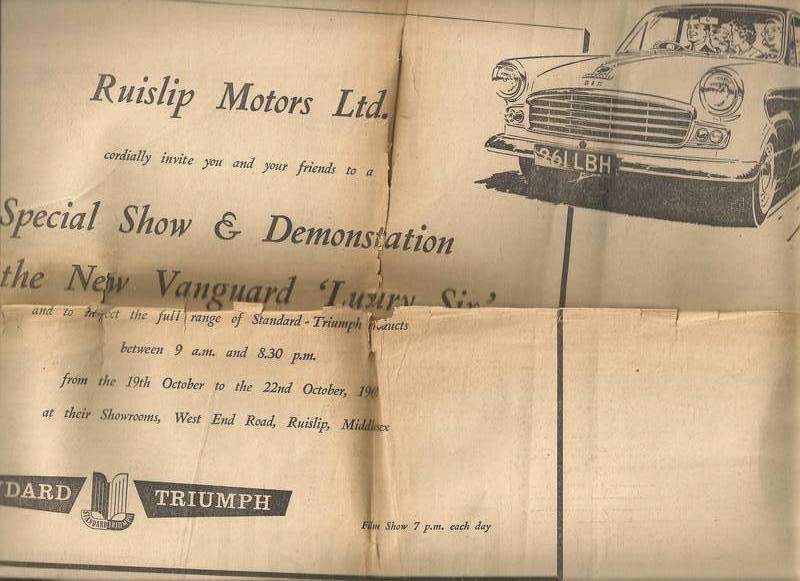 car advert 2. 1960