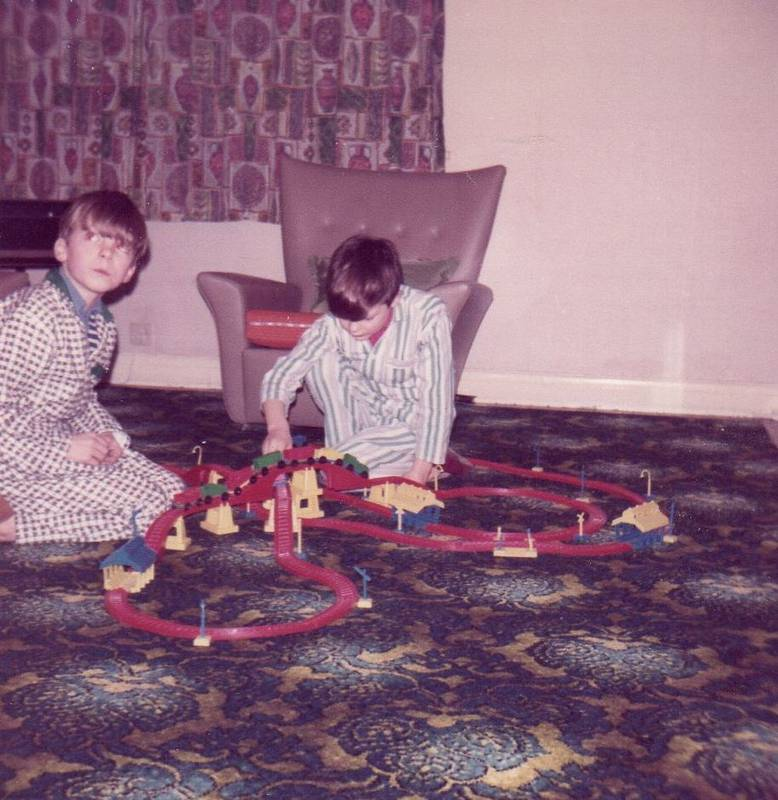 Christmas 1969 in Chaucer Ave