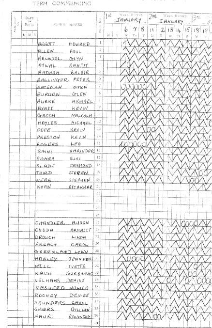 Mrs_Calverly_s_register_2nd_Year_Juniors_Class_9_1968-69