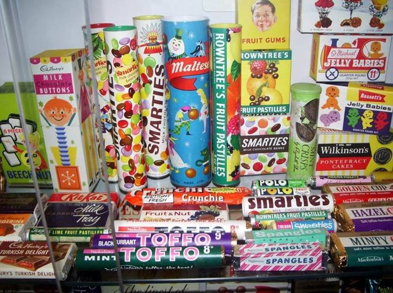 Sweets and chocolates of the 1960s and 70s