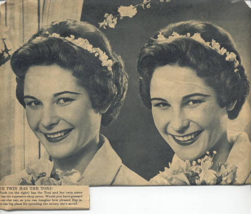 Which Twin Has the Toni? Famous advert.