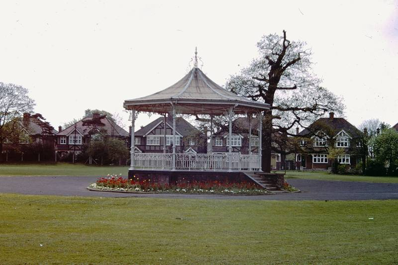 May 1968 View of the Bandstand in Barra Hall Park