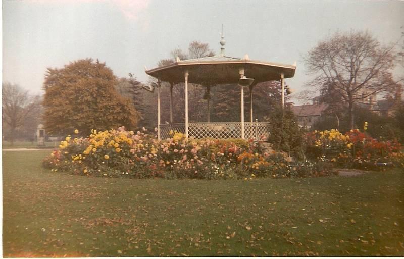 Bandstand in Fassnidge Park Uxbridge 1960s
