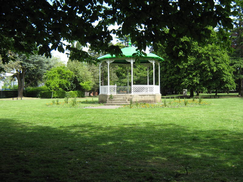 Bandstand in Fassnidge Park