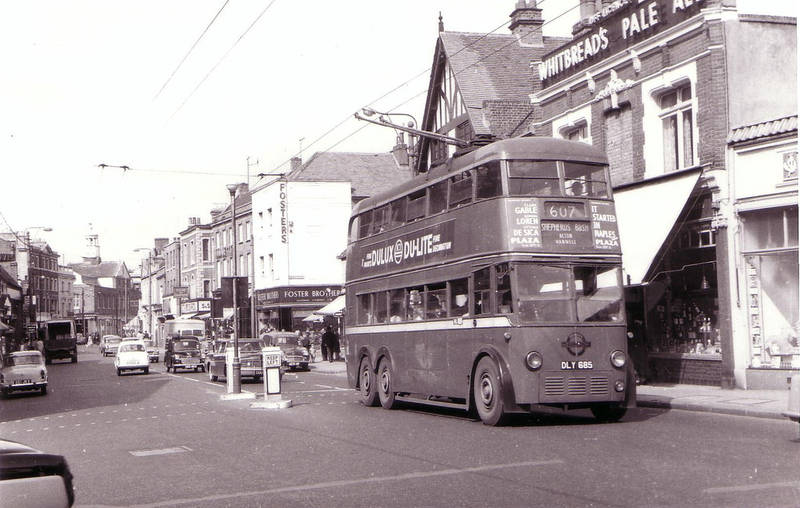 607 Trolley Bus in Uxbridge - West London Photo Galleries