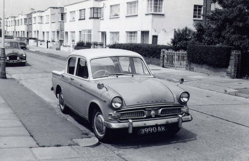 Hillman Minx Gledwood Ave  c1967