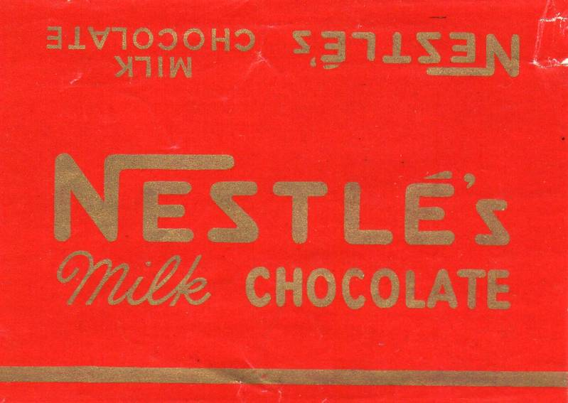 Nestle's Chocolate made in Hayes