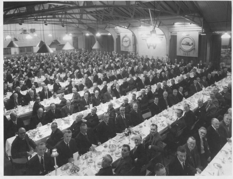 Fairey Aviation Staff Dinner 1961
