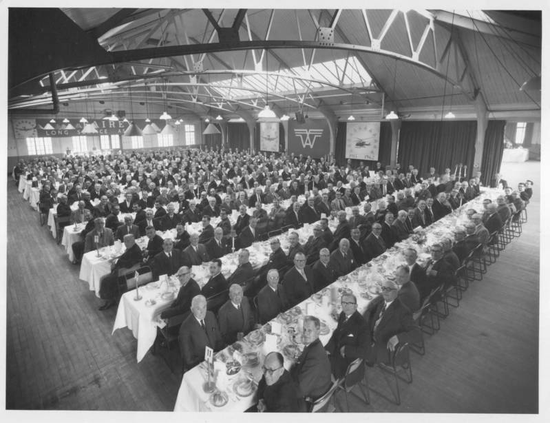 Fairy Aviation Staff Dinner 1962
