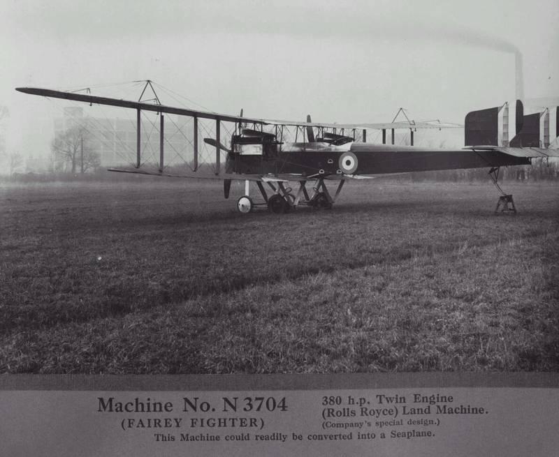 Fairey  Fighter Machine No. N3704