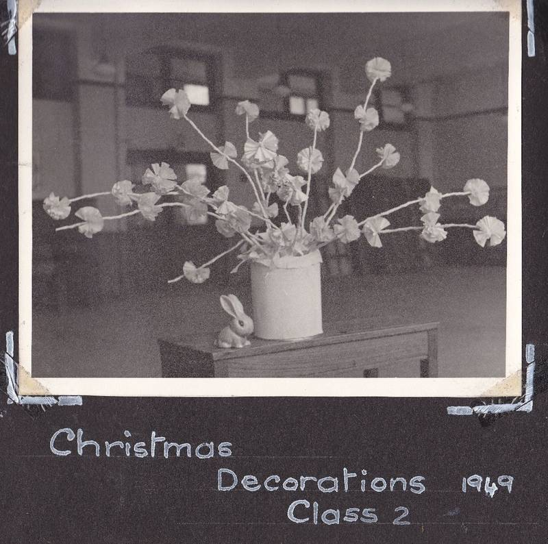 Christmas 1949 at Grange Park Juniors