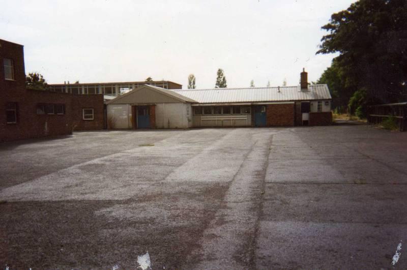 Harlington School canteen