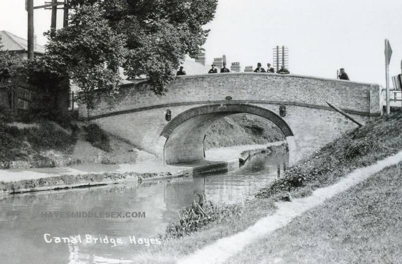 Hayes canal bridge early 20th century