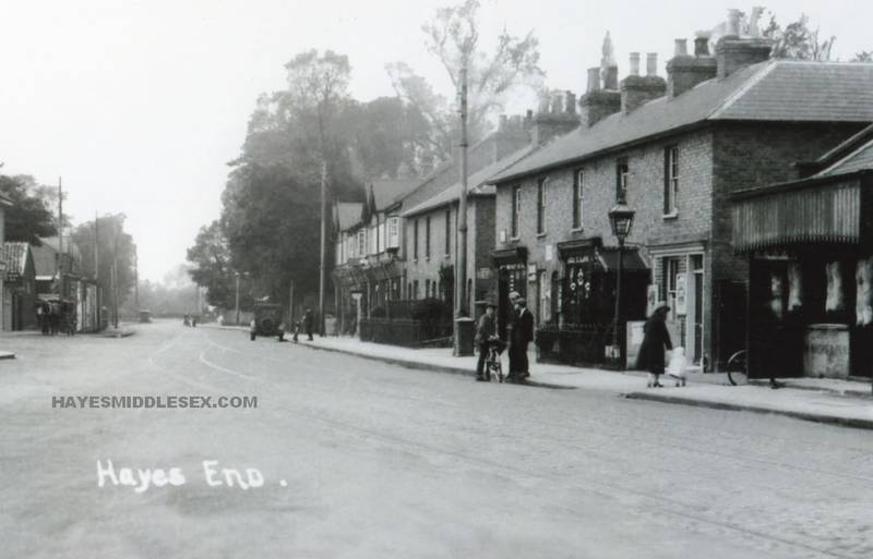 Hayes End early 20th century