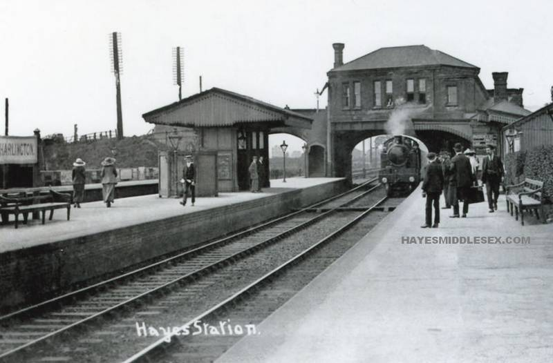 Hayes and Harlington Station - Great Western Railway