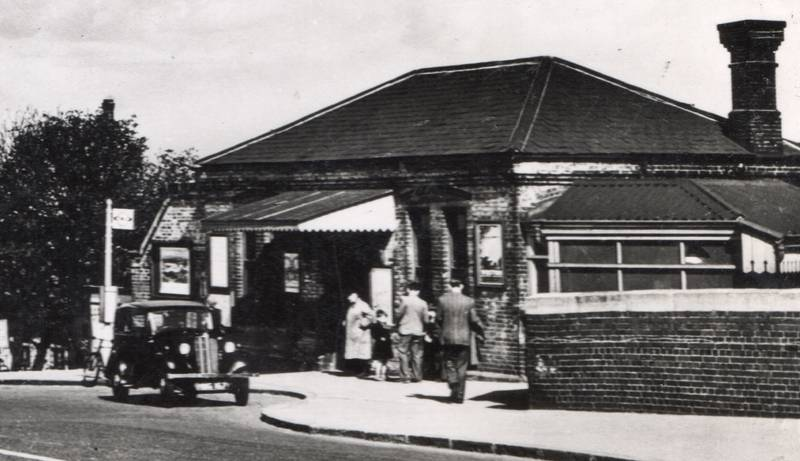 Detail of Hayes Station photo