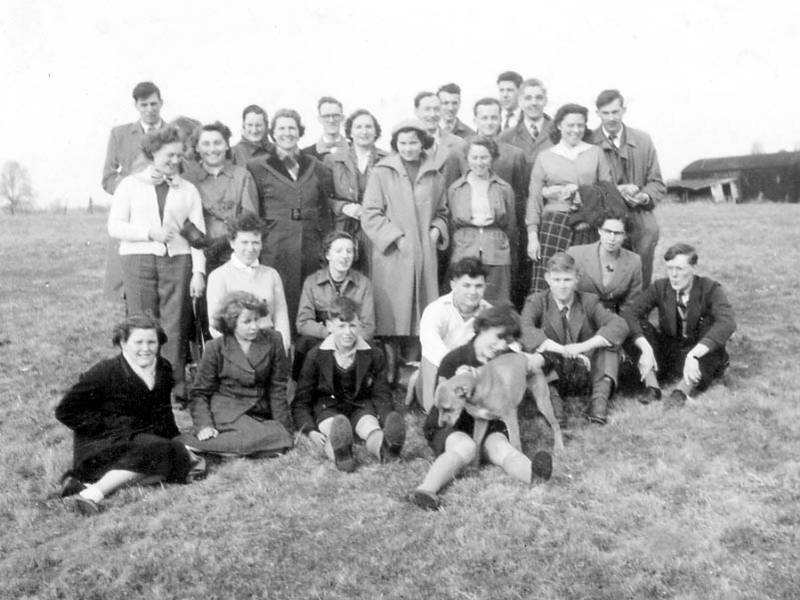 1955 Chapel outing to Rush Green in Berks