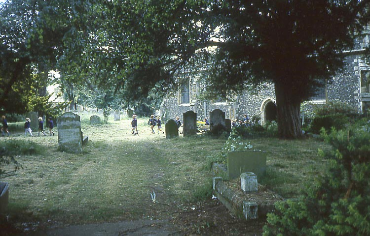 011_June_1981_St_Mary_s_Cemetery_and_Pupils