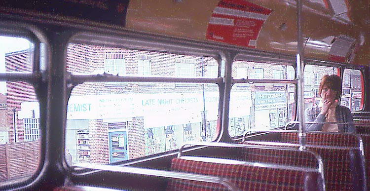 047_June_1981_Bus_view_Pickups_Chemist