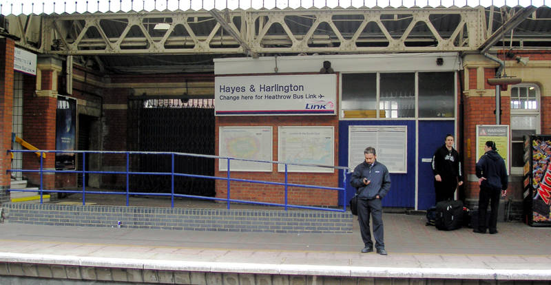 June 2005 Hayes & Harlington Station