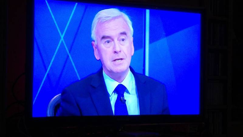 John McDonnell on BBC1 Question Time