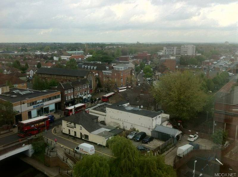 The Olde Crowne - Hayes from on high