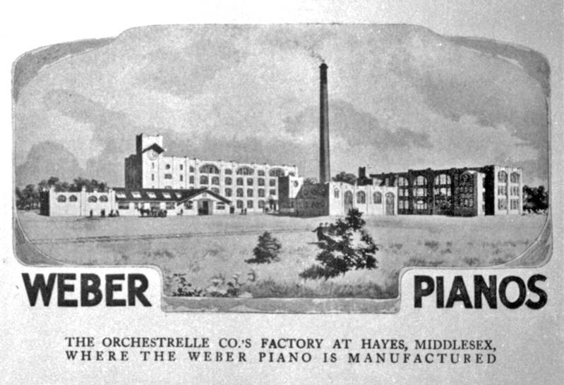 Aeolian Factory c1910 - Overall View