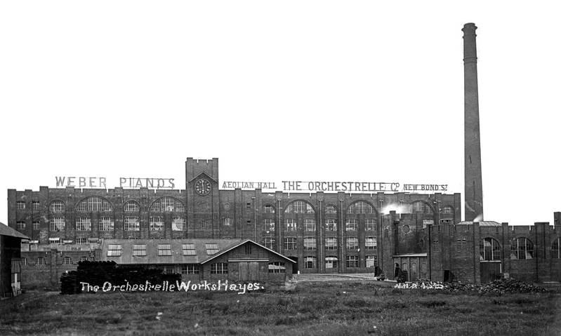 Aeolian Factory c1914 - 01: Overall View