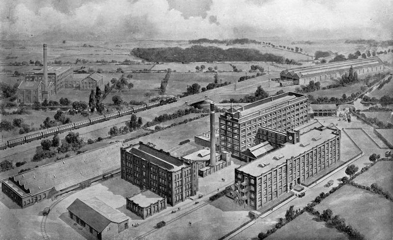 Aeolian Factory c1920 - 01: Overall View