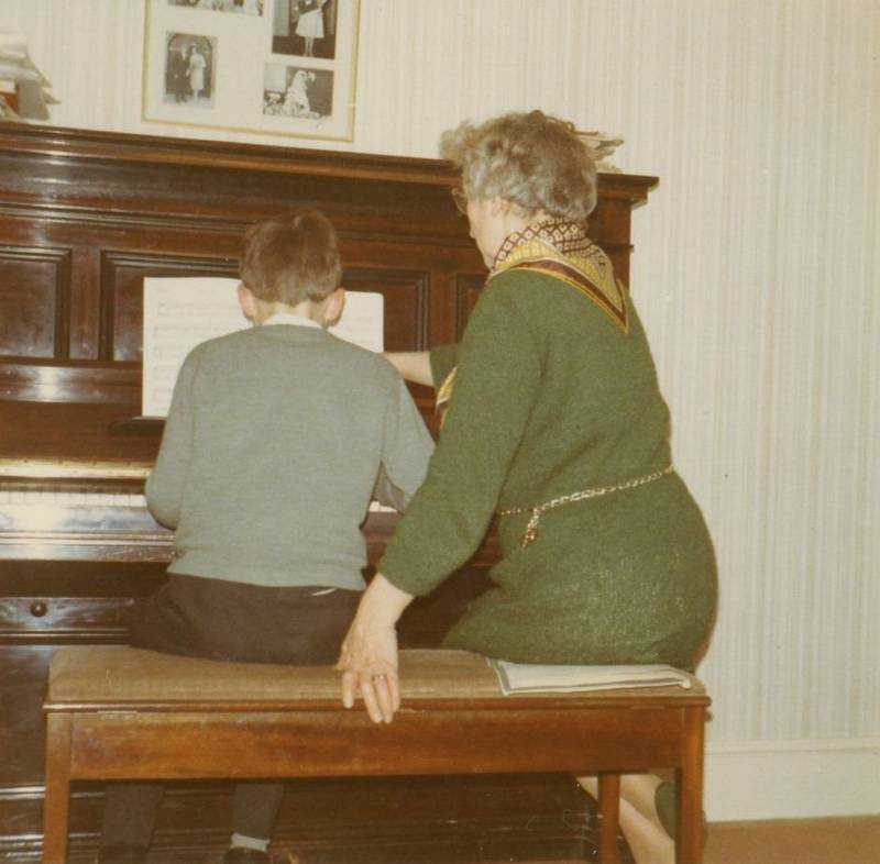Uxbridge piano teacher Phyllis Matthews