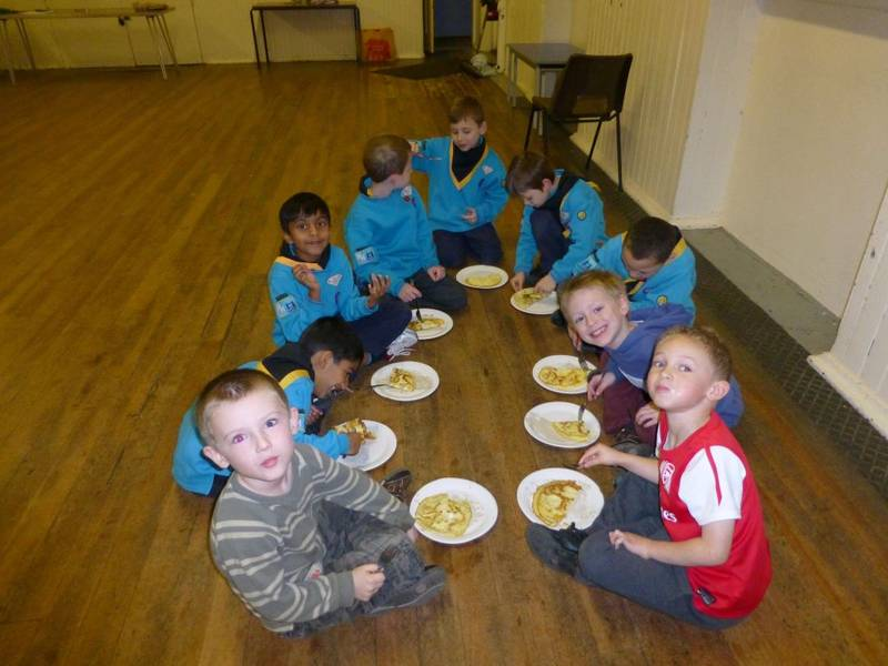 3rd Hayes Beavers Healthy Eating