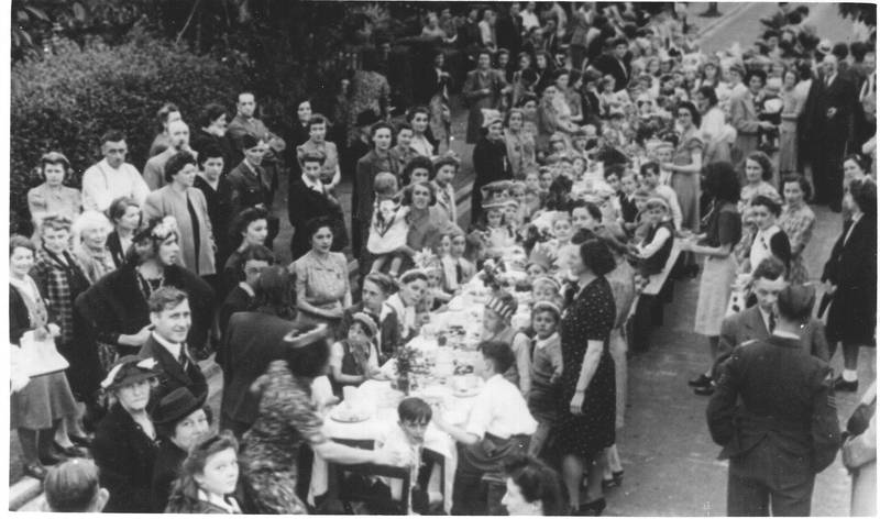 Home Farm VE Day Party Hayes End
