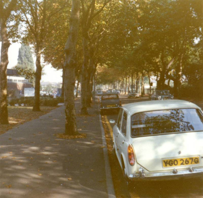 Around Central Avenue Hayes 1972