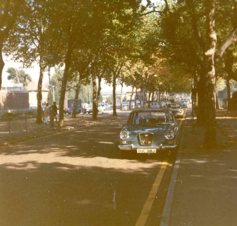 Around Central Avenue Hayes 1972