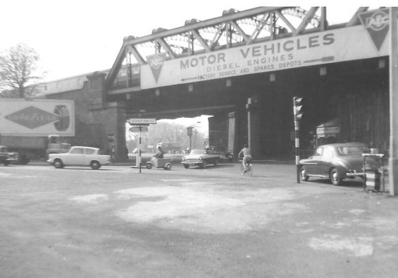Iron Bridge, Southall, in April 1963