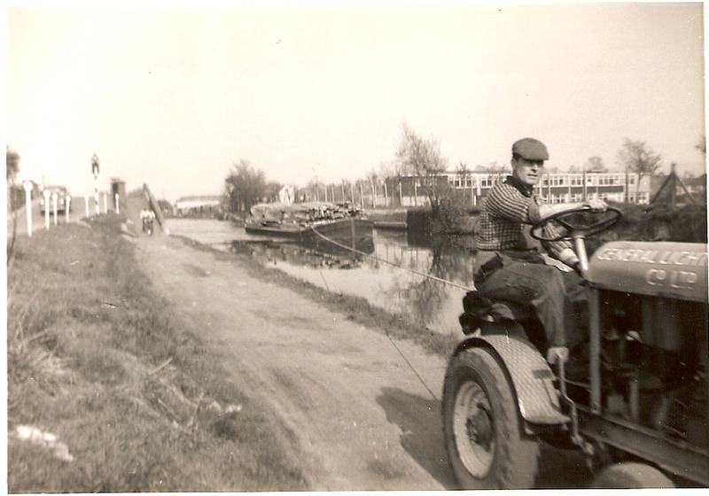 Grand Union Canal, Southall, 1963