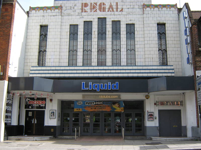The former Regal cinema, Uxbridge, May 2015.