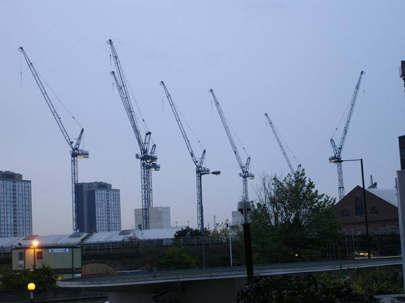 Westfield Shopping Centre construction